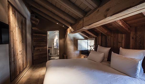 Le Chalet Zannier: Deluxe Room