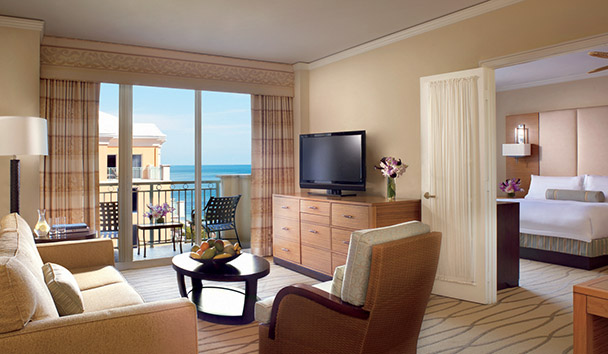 The Ritz-Carlton Key Biscayne, Miami: Partial Ocean View Suite