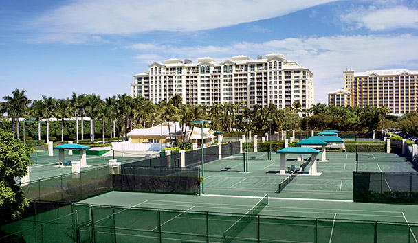 The Ritz-Carlton Key Biscayne, Miami: Tennis Courts