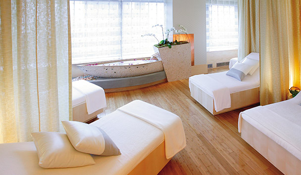 Mandarin Oriental, New York: Spa Relaxation Room