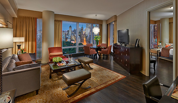 Mandarin Oriental, New York: Premier Central Park View Suite