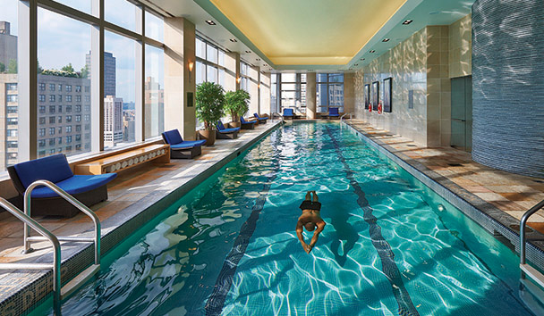 Mandarin Oriental, New York: Lap Pool