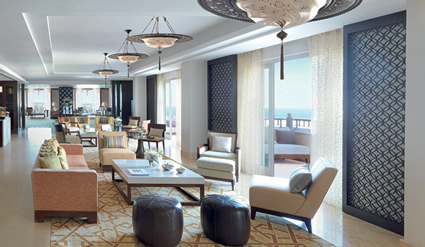The Ritz-Carlton, Dubai: The Club Lounge