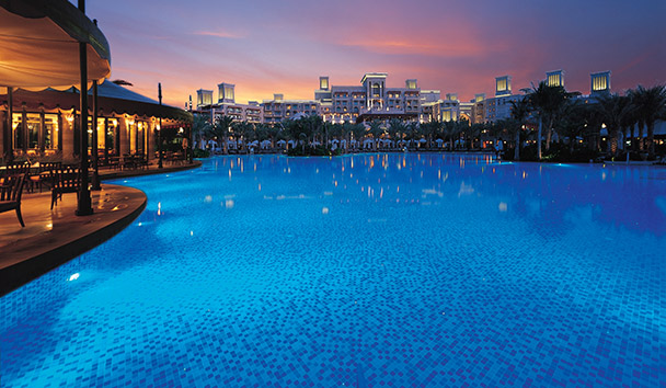 Jumeirah Al Qasr: Swimming Pool