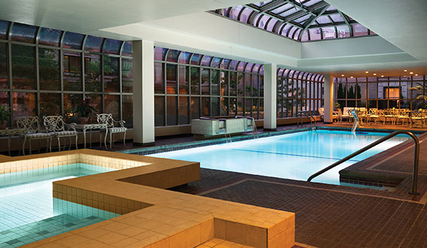 Fairmont Olympic Hotel, Seattle: Health Club