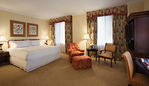 Fairmont Olympic Hotel: Deluxe Room