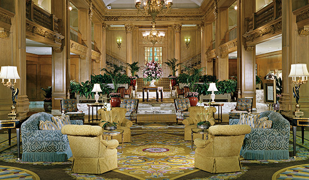 Fairmont Olympic Hotel, Seattle: Lobby