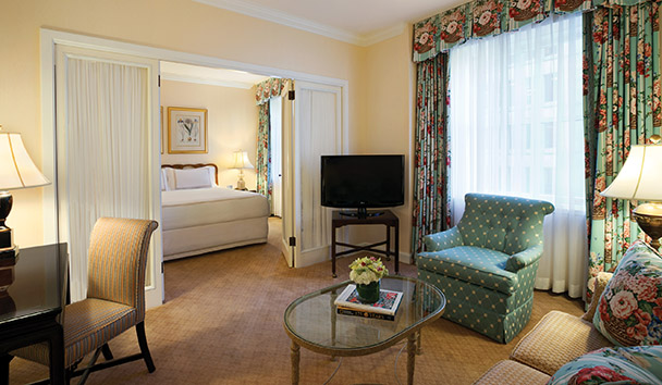 Fairmont Olympic Hotel: Executive Suite