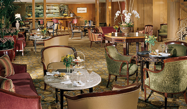 Fairmont Olympic Hotel, Seattle: The Terrace Lounge