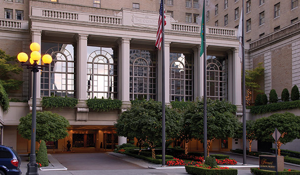 Fairmont Olympic Hotel, Seattle: Exterior