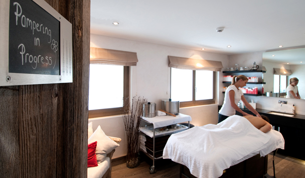 The Lodge At Verbier: Spa