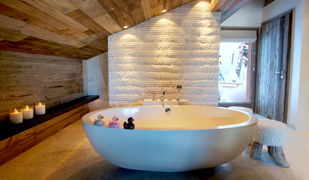 The Lodge At Verbier: Master Bedroom Bathroom