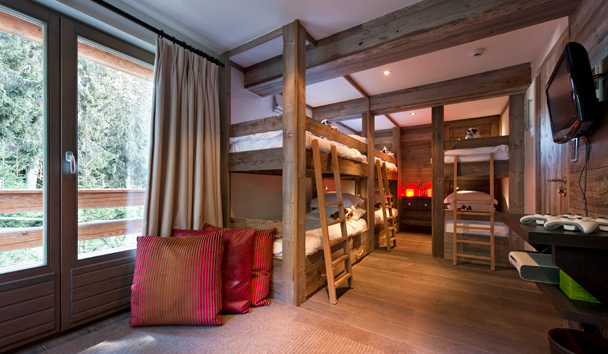 The Lodge At Verbier: Kids Bunkroom