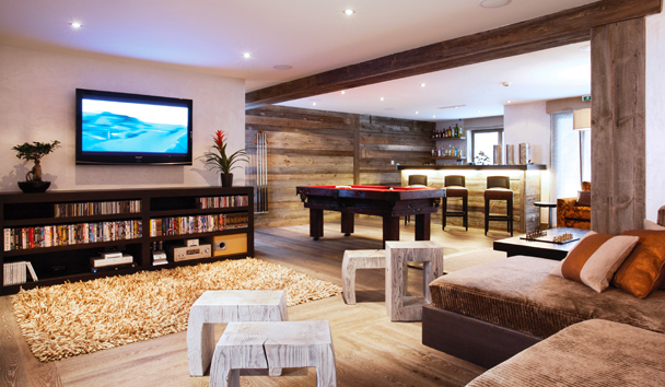 The Lodge At Verbier: Party Room