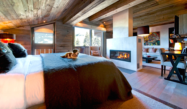 The Lodge At Verbier: Second Master Suite