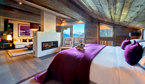 The Lodge At Verbier: Master Suite