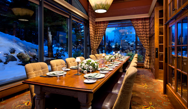 Fairmont Chateau Whistler: Grill Room - Private Dining Room