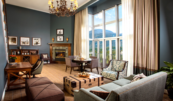 Fairmont Chateau Whistler: Penthouse Suite