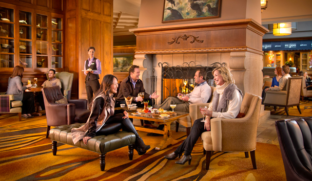 Fairmont Chateau Whistler: Mallard Lounge