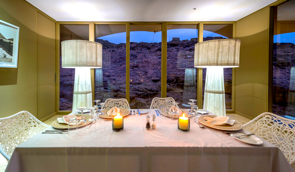 Hoanib Skeleton Coast: In-Tent Dining