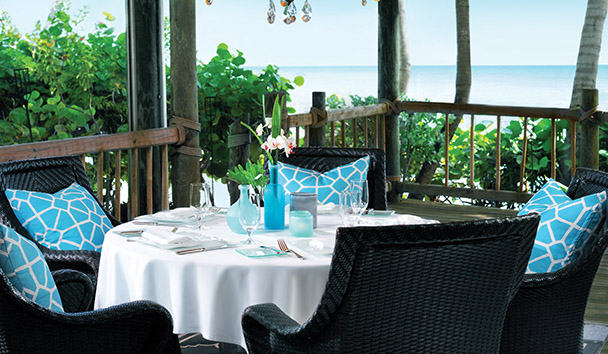 Little Palm Island Resort & Spa: The Dining Room