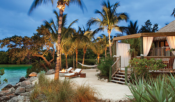 Little Palm Island Resort & Spa: Private Beach of a Suite