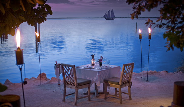 Little Palm Island Resort & Spa: Sunset Private Dining