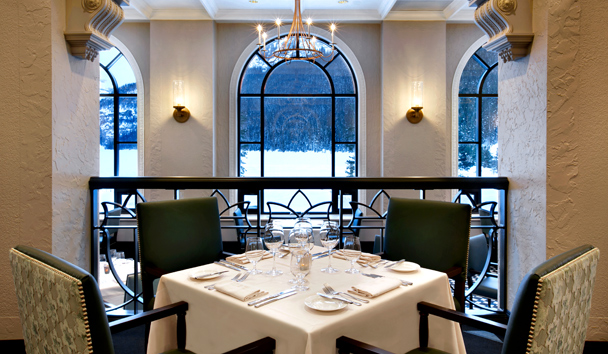 Fairmont Chateau Lake Louise: Fairview Dining Room