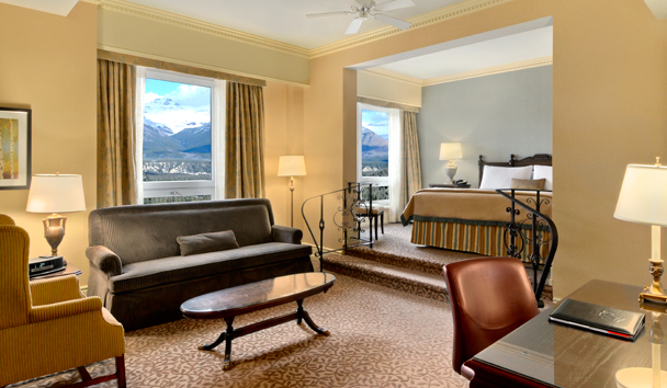 Fairmont Banff Springs: Junior Suite