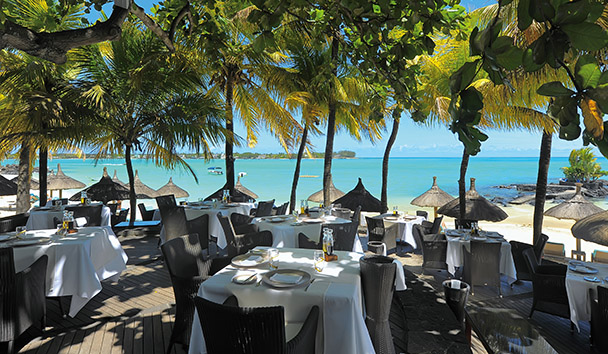 Royal Palm Beachcomber Luxury: Le Bar Plage