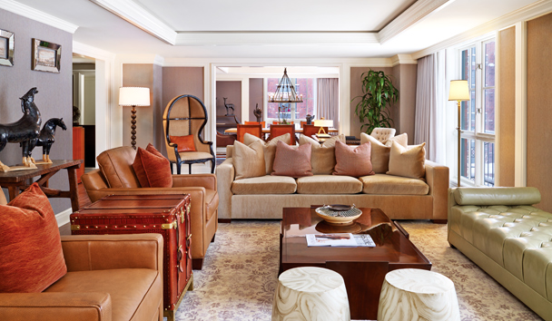St. Regis Aspen Resort: Presidential Suite - Living Room