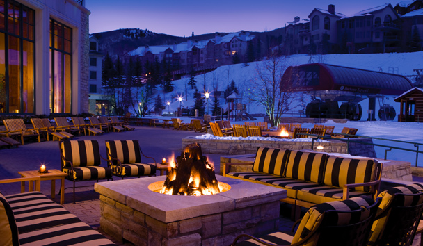 Park Hyatt Beaver Creek Resort and Spa®: Firepit
