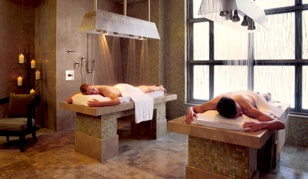 Park Hyatt Beaver Creek Resort and Spa®: Allegria Spa - Vichy Shower Couples Suite