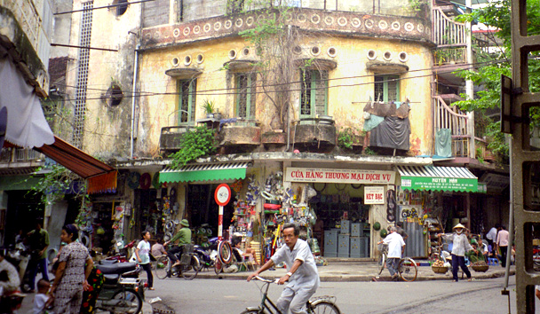 Old French Quarter, Hanoi, Vietnam