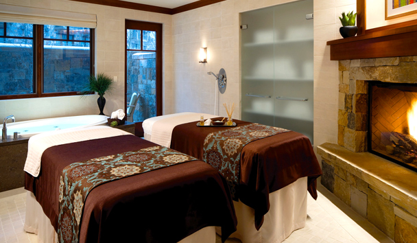 Four Seasons Resort and Residences Vail: Spa Couples' Suite
