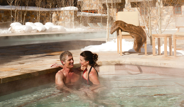 Four Seasons Resort and Residences Vail: Outdoor Jacuzzi