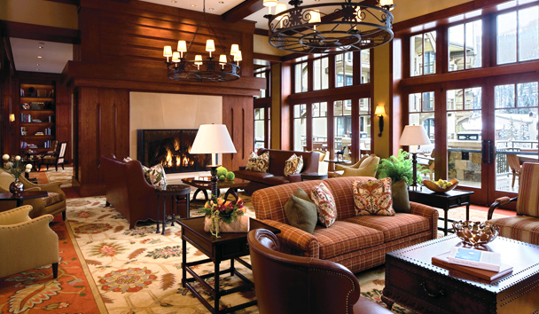 Four Seasons Resort and Residences Vail: Fireside Lounge