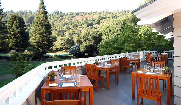 Meadowood Napa Valley:The Grill Terrace