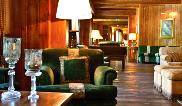 Hotel Hermitage: Lounge