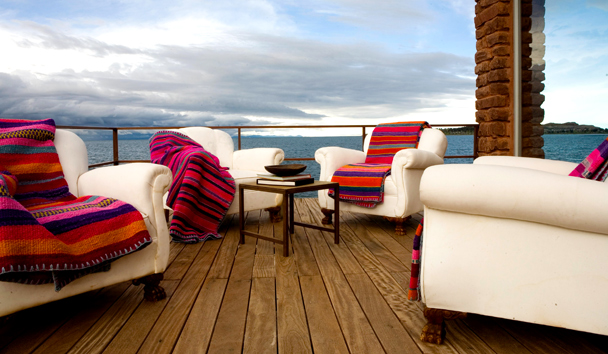 Titilaka Hotel: Outdoor Seating