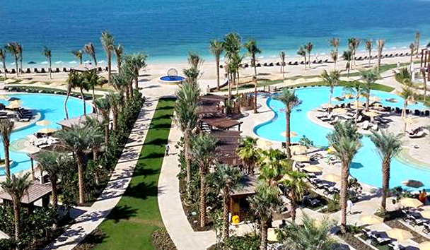 Jess' image of the beach from Four Seasons Resort Dubai At Jumeirah Beach