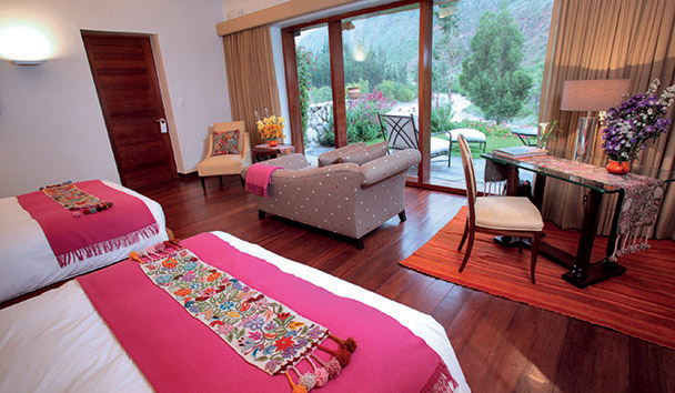 Belmond Hotel Rio Sagrado: Garden Junior suite