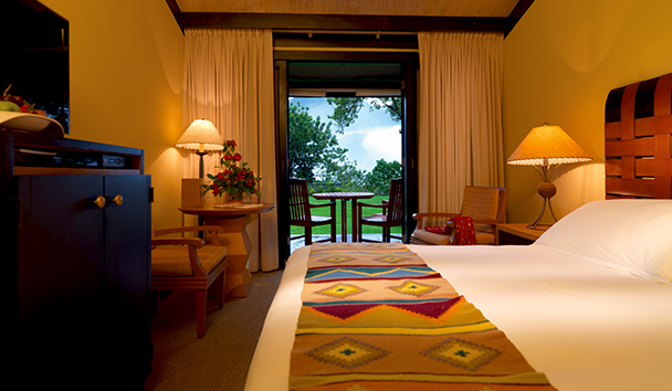 Belmond Sanctuary Lodge: Deluxe Mountain View Room with Terrace