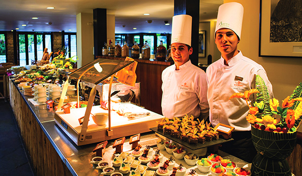 Belmond Sanctuary Lodge: Tinkuy Buffet Restaurant