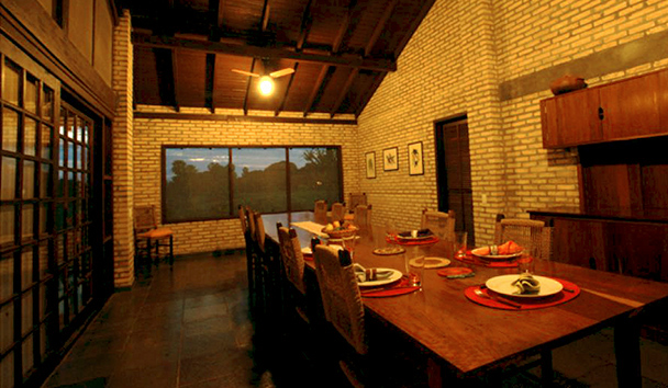 Fazenda Barranco Alto: Dining Room