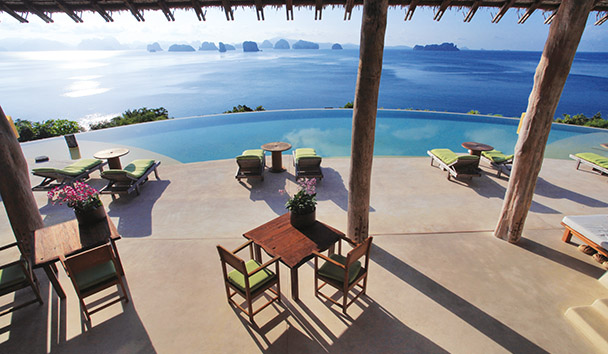 Six Senses Yao Noi: Hilltop Reserve Infinity-edge Swimming Pool
