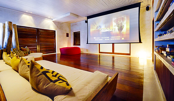 Opium Villa: Media Room