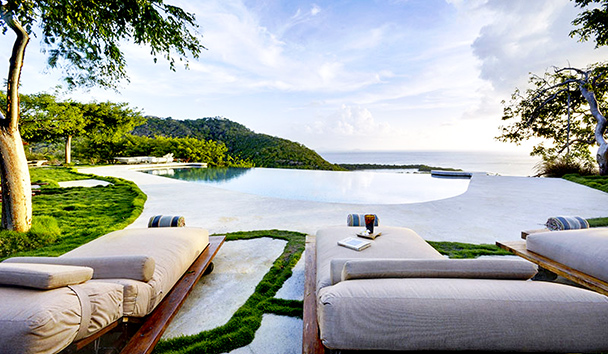 Opium Villa: Infinity-Edge Pool and Loungers