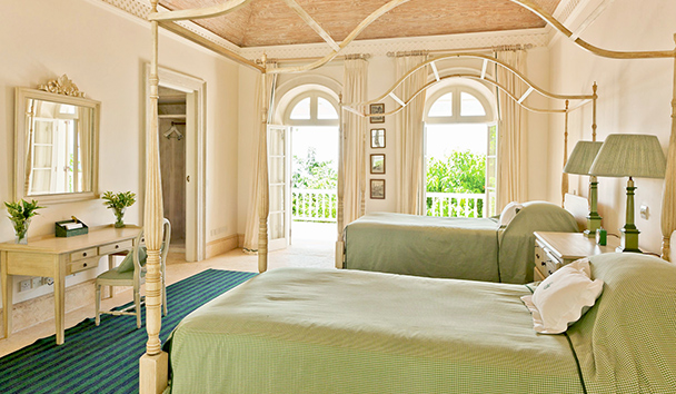 Plantation House: Twin Bedroom