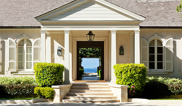 Plantation House: Entrance
